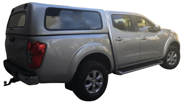 Nissan Frontier 2017 em diante Capota de Fibra Fechada
