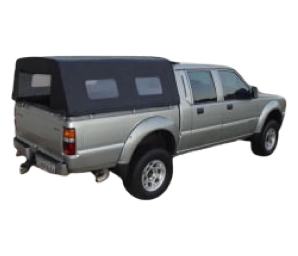 Capota lona alta Mitsubishi Sport/Outdoor cabine dupla s/ sto antonio