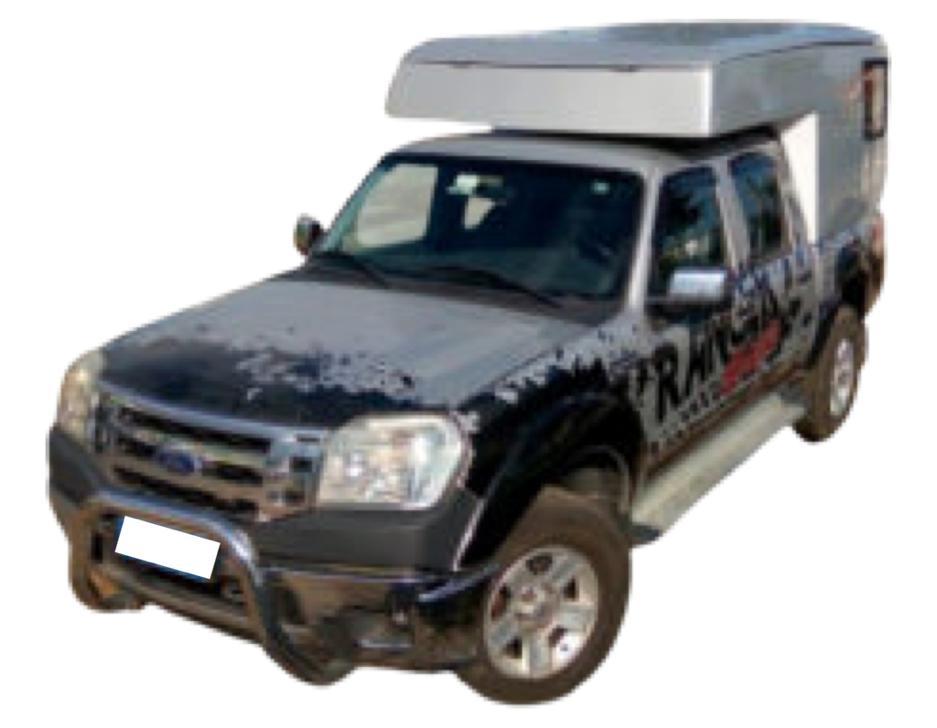 Capota Baú Camping para Ford Ranger