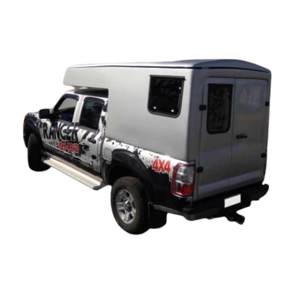 Capota de Fibra Nova Ford Ranger Baú Camping