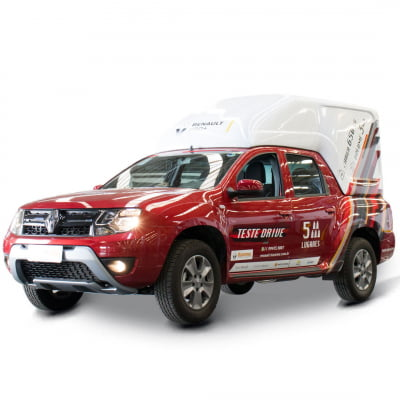 Capota de Fibra Baú Alta para Renault Oroch
