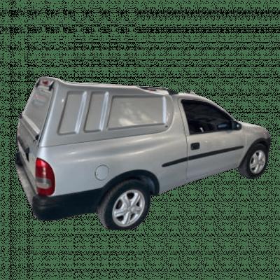 Capota de Fibra Nova Fechada Pick-Up Corsa