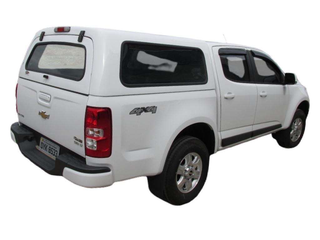 Capota de Fibra Nova Convencional para Chevrolet S10 ano 2012 - 2021 Cabine Dupla