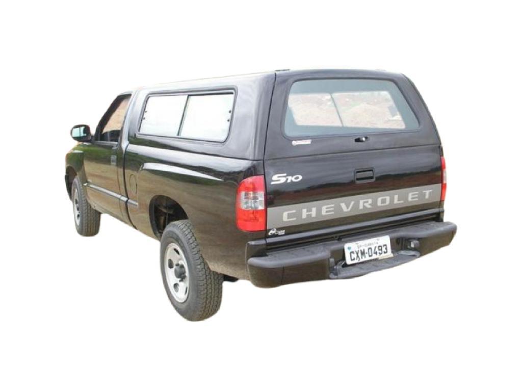 Capota de Fibra Nova Convencional para Chevrolet S10 ano 1995 - 2011 Cabine Simples