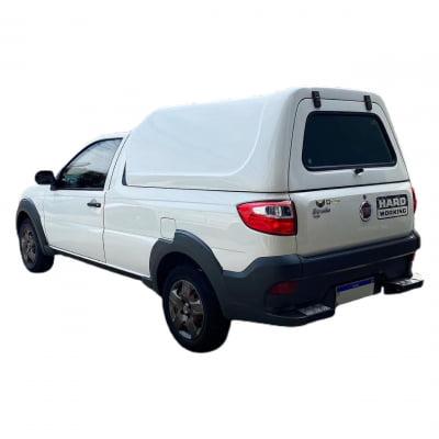 Capota de Fibra Nova Convencional para Fiat Strada ano 2014 - 2020 Cabine Estendida