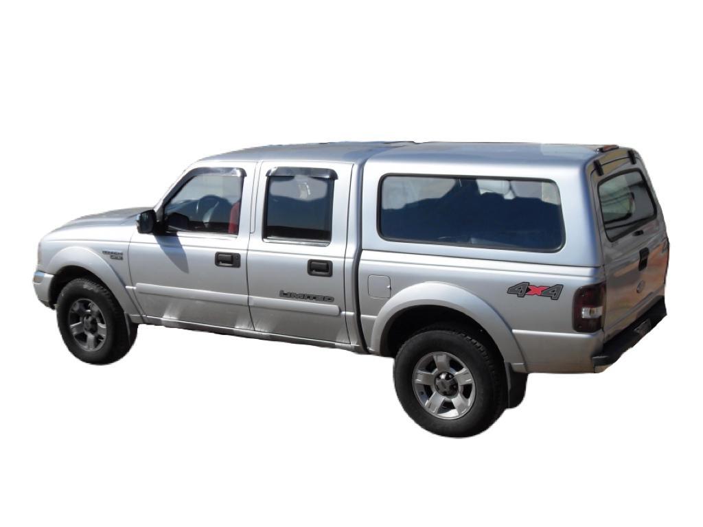 Capota de Fibra Nova Convencional para Ford Ranger Antiga Cabine Dupla