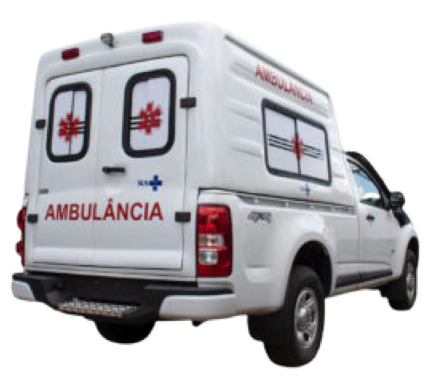 Capota de Fibra Baú Alta 2 Portas Chevrolet S10