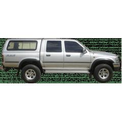 Capota Toyota Hilux Dupla convencional Fechada até 2004