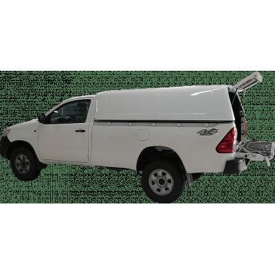 Capota Toyota Hilux Simples convencional Fechada
