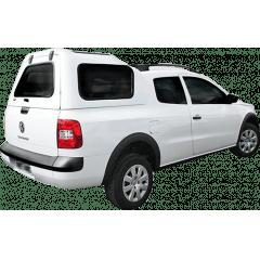 Capota de Fibra Nova Convencional para Volkswagen Saveiro ano 2010 - 2021 Cabine Dupla
