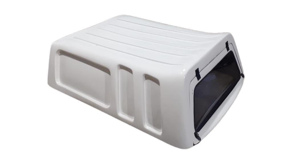 8449 - Capota de Fibra Usada Fechada para Volkswagen Saveiro G5/G6 e Robust Cabine Simples