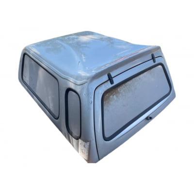 5549 - Capota de Fibra Usada para Volkswagen Saveiro G2/G3/G4 Cabine Simples (Prata)
