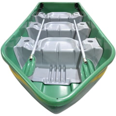 6118 – Barco Pescador 3 Lugares com 2 Remos